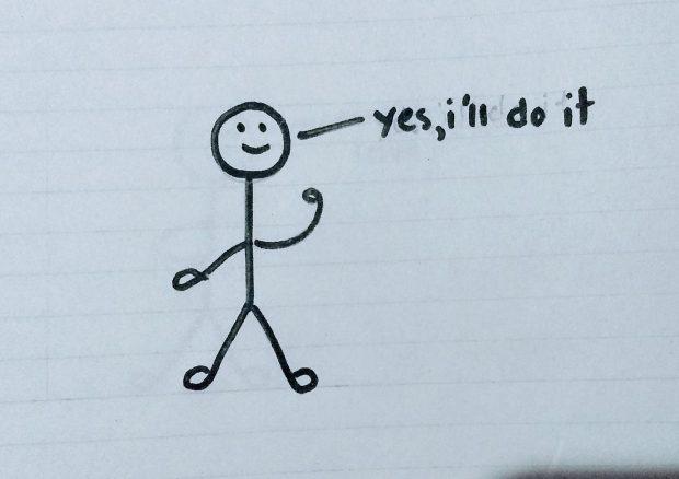 I'll do it - Doodle