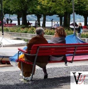 Bonding on Rapperswil Promenade