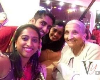 With Ba at Rupa's Wedding