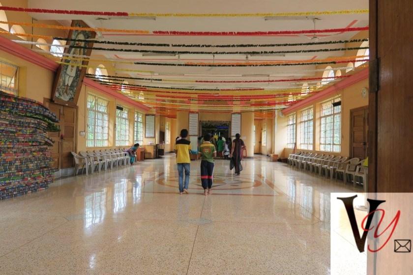 Inside the Mandir