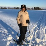 Snow shoeing in Zumikon