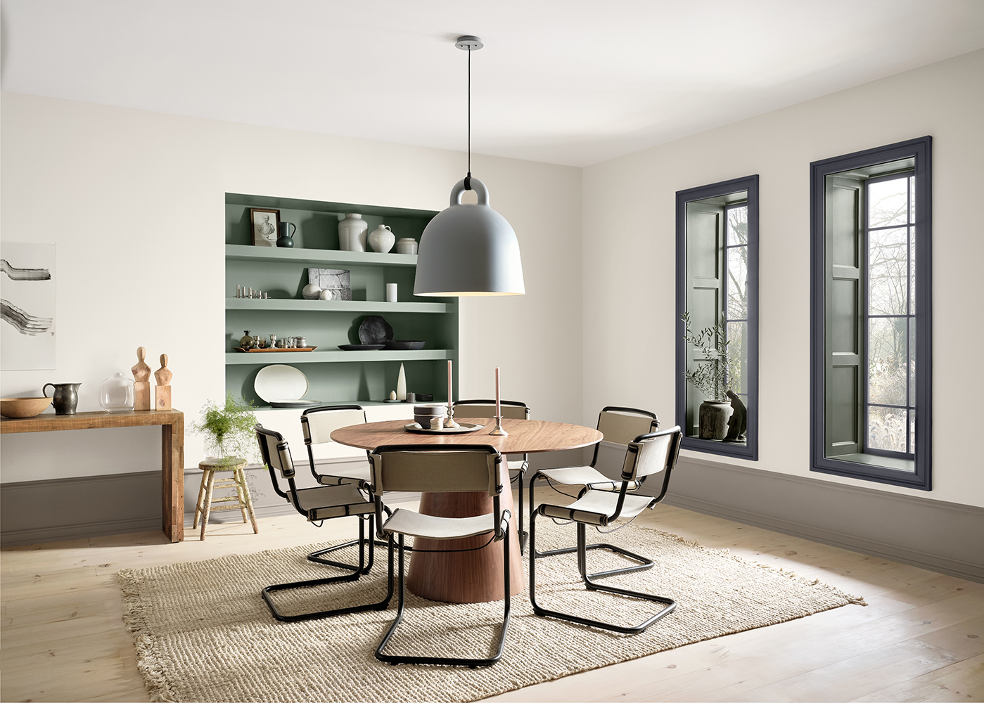 Dining room design in Haven