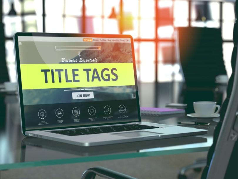 cos'è e l'importanza del tag title