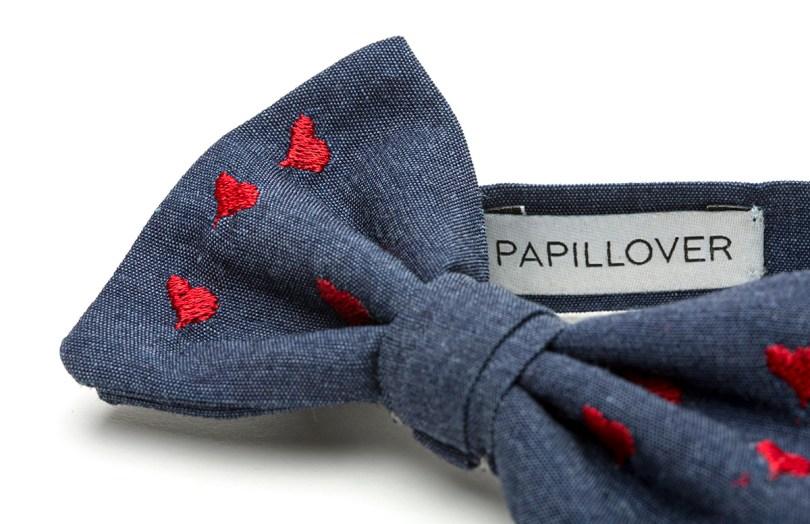 Papillon da uomo personalizzato firmato Papillover