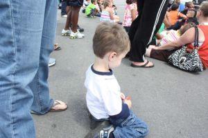 child crowd