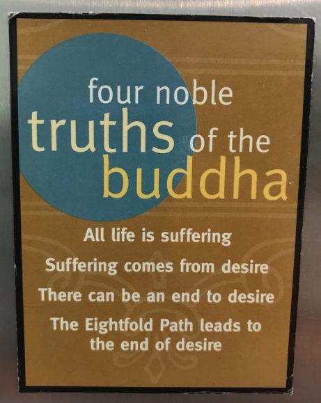 4 noble truths fridge