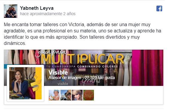 Testimonio Taller Libera tu chispa Yabneth Leyva
