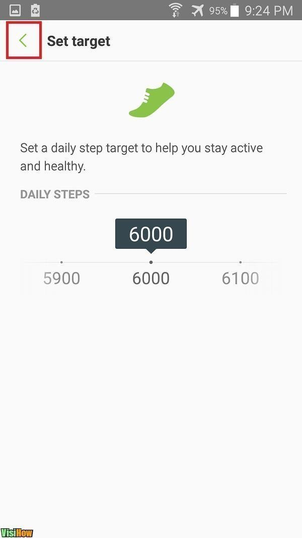 Use Samsung Galaxy S5 As a Pedometer to Count Your Number
