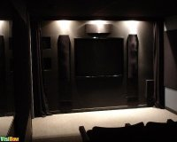How to Design and Build a Home Theater Front Wall - VisiHow