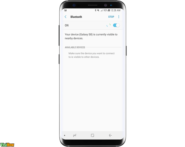 Send and Receive Files via Bluetooth on a Samsung Galaxy