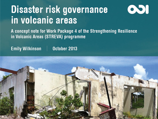 Disaster Risk Governance in Vulcanic Areas