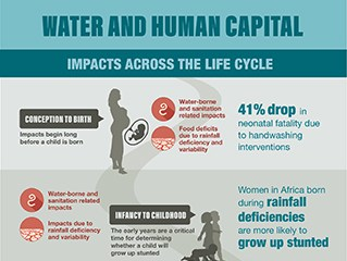 Water and Human Capital