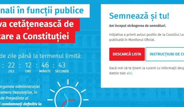 FĂRĂ PENALI ÎN INSTITUȚII PUBLICE!