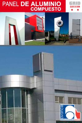Lmina de aluminio compuesto ACM  Visin Digital