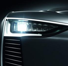 Los autos del futuro iluminacin LED en la industria