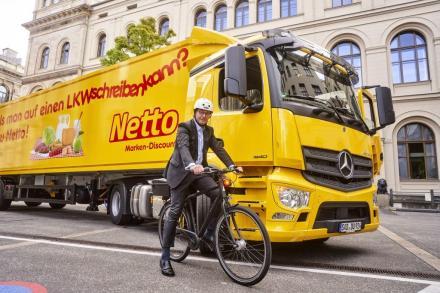 Wasserstoff-Lkw: Netto will H2-Antrieb in Feldversuch testen