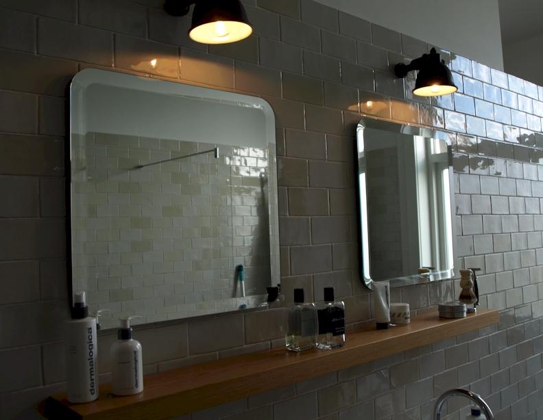 Spiegels op maat wandspiegels badkamerspiegels en