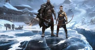 God of War Ragnarok Kratos Dublador 1 Vision Art NEWS