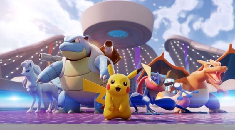 Pokemon Unite Pesquisa Jogo Vision Art NEWS