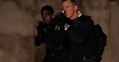 daniel craig e lashana lynch nova agente 00 em 007 sem tempo para morrer Vision Art NEWS