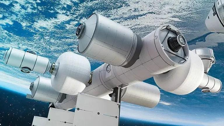 Conhea a nova estao espacial privada