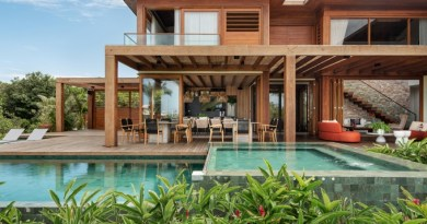 6 casa na bahia emoldura natureza circundante Vision Art NEWS
