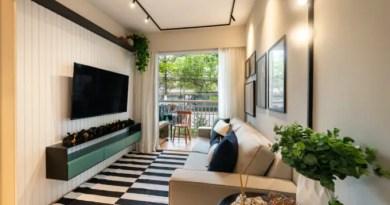 Apartamento de 41m² mistura urbano e natureza 02 1 Vision Art NEWS