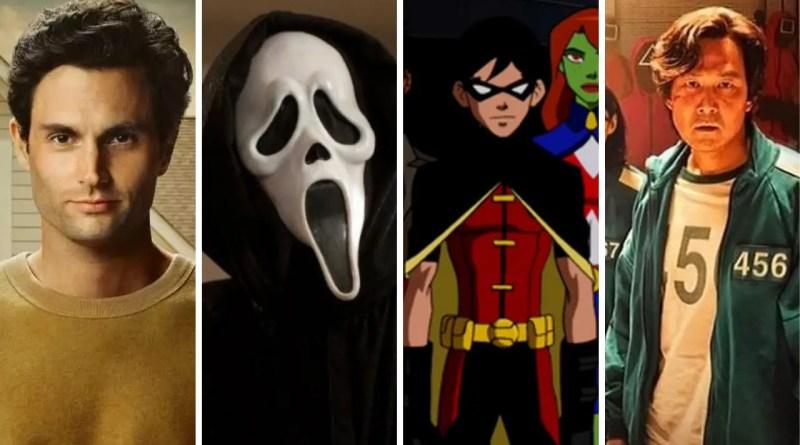 As 10 séries mais assistidas da semana (24/10/2021)