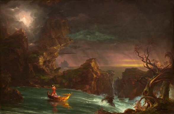 Thomas Cole The Voyage of Life: Manhood, 1842