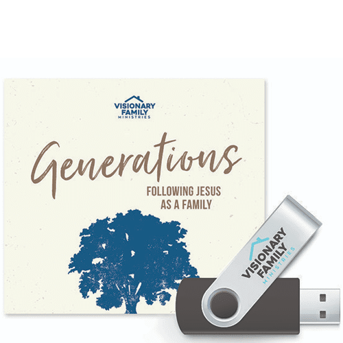 Generations Bible Study USB Package