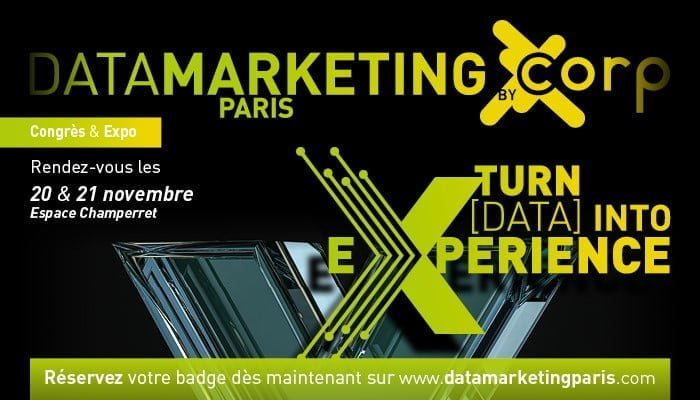 Visionary Marketing est partenaire de Data Marketing Paris 2019