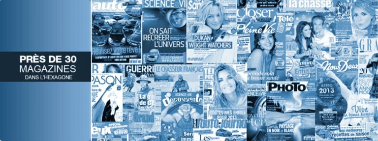 Mondadori : 30 titres de presse