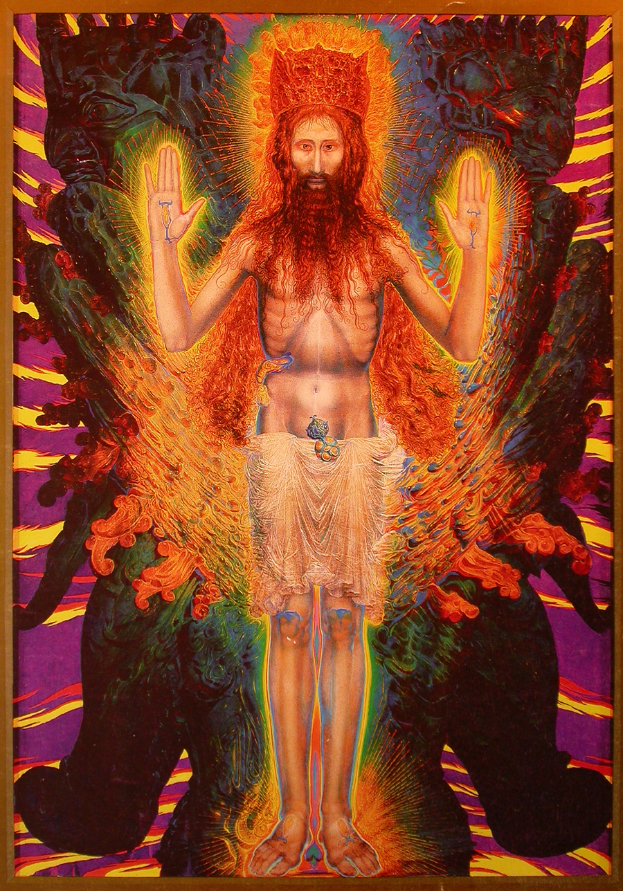 THE TRANSFIGURATION OF THE RESURRECTED, ERNST FUCHS