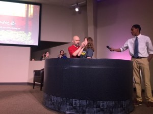 Six Baptisms This Past Thursday!