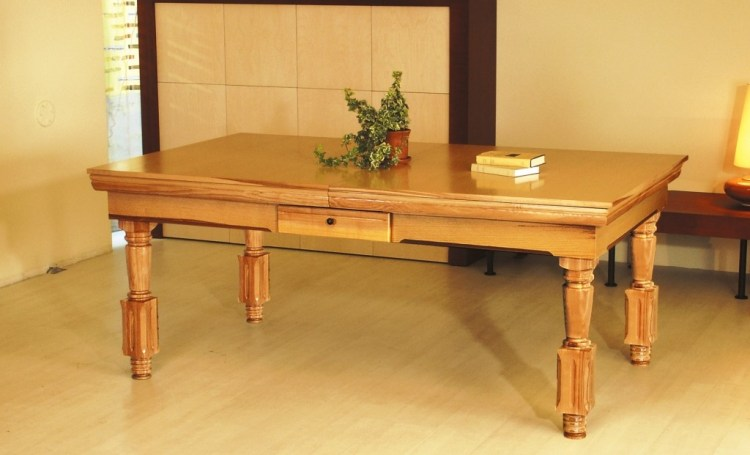 St Merryn convertible dining fusion pool table by Vision Billiards