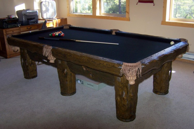 Wilderness Rustic Pool Table, Colorado