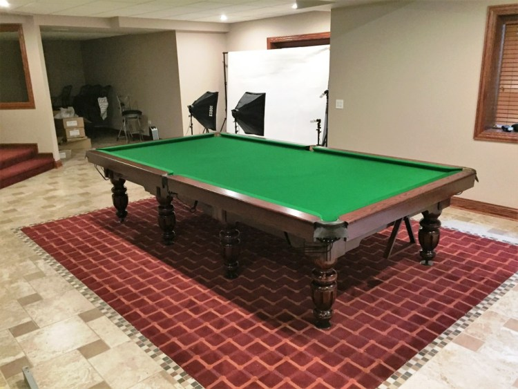 11' English Snooker Olympus table