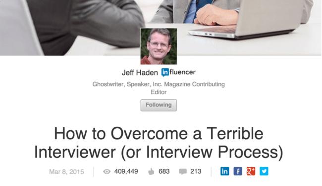 Executive Blogging Ghostwriter
