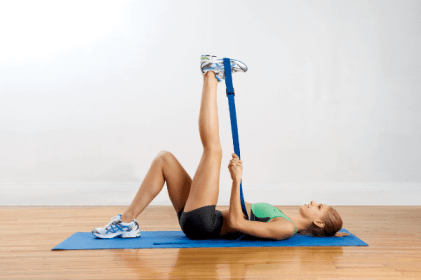 rope stretch - fix flat back syndrome