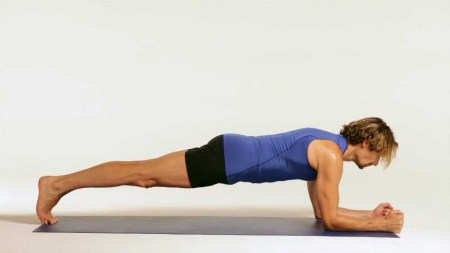 forearm planks - fix Flat Back Syndrome