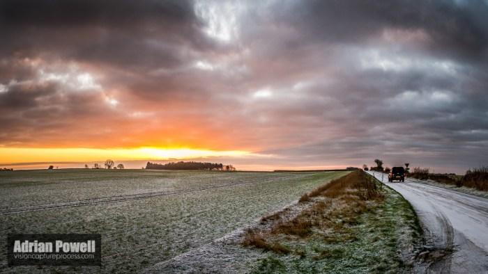 Sunrise - Shipton Down - 31st December 2014