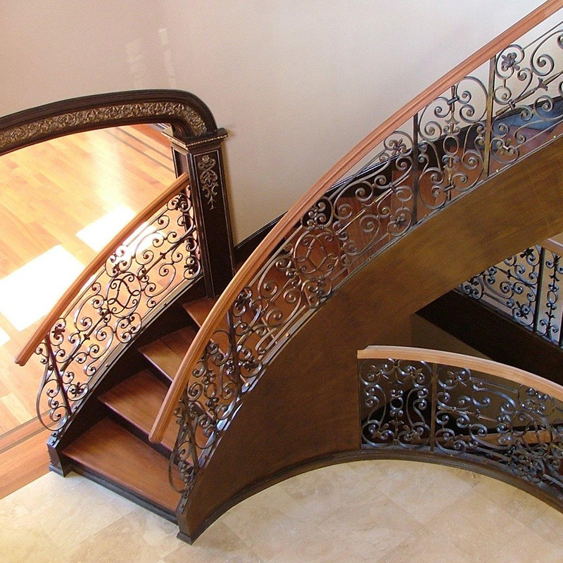 Custom railing and stairs