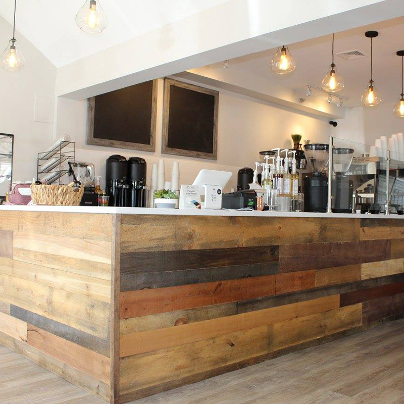 Design build coffee bar, commercial property
