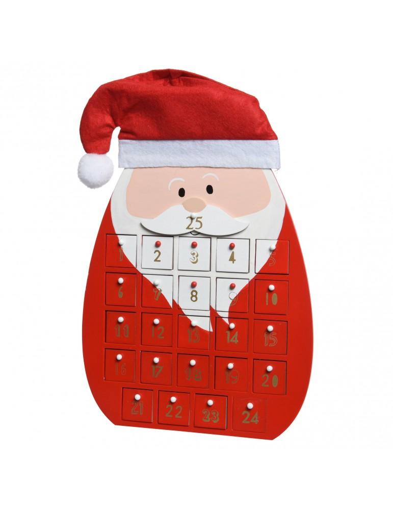 Calendrier De L'avent Pere Noel : calendrier, l'avent, Calendrier, L'avent, Forme, Père, Noël, DEO4063206