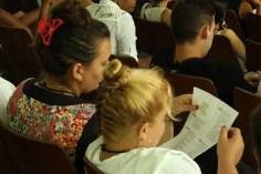 Acto de apertura oficial de la edición 29 del Fórum Nacional de Estudiantes de Ciencias Pedagógicas a la Universidad de Holguín. Sede José de la Luz y Caballero el 22 de junio. UHO FOTO/Torralbas..