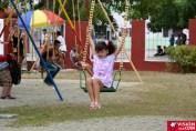 Los pequeños disfrutan de cada visita al Parque Infantil Rubén Bravo de la ciudad de Holguín. VDC FOTO/Luis Ernesto Ruiz Martínez.