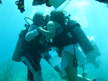 Una boda bajo el mar.