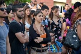 Estudiantes de la Universidad de Holguín celebran el Día Internacional del Estudiante. UHO FOTO/Luis Ernesto Ruiz Martínez.