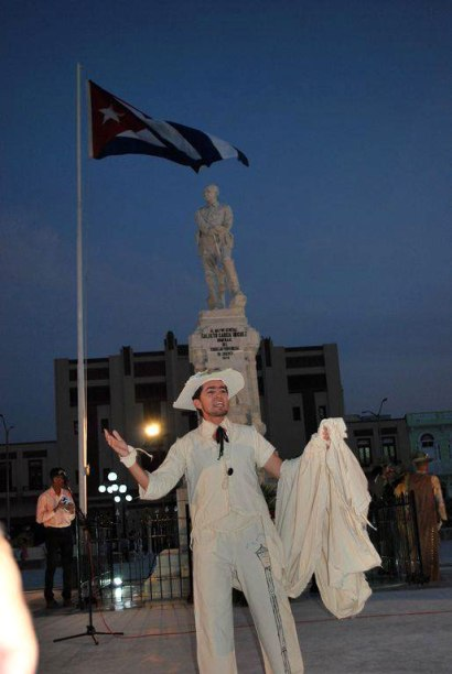 Reapertura del parque Calixto García después de su reparación capital. Foto: Carlos Parra.