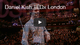 Daniel Kish: TEDX Observer keynote in London, England in 2012.